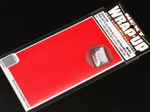 Wrap-Up Real 3D Light Lens Decal Red Small Block (0004-08)