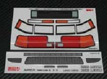 Wrap-Up Real 3D Decal Set AE86 Levin (Later V.) (0032-05)