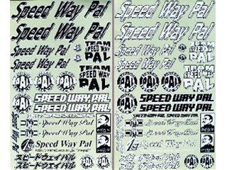 Speedway Pal Sticker Set Type 2