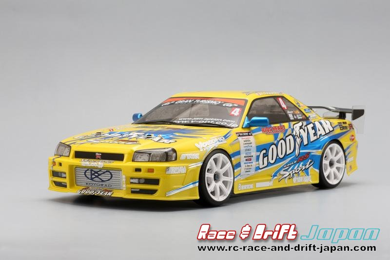 Yokomo Goodyear Bee-R B324R Skyline (SD-B324BS)