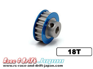 Square Aluminium Center Pulley 18T
