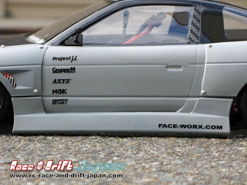 Uras 180SX Side Step-Roof-Trunk Spoiler