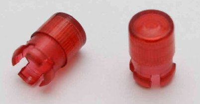 Addiction Led Cap Clear Red (AD005-3)