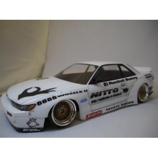 Addiction S13 Silvia Rocket Bunny V2 Fender/Side Step (AD011-2)