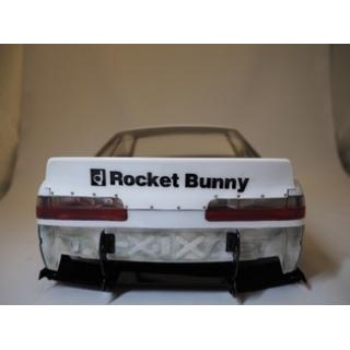 Addiction S13 Silvia Rocket Bunny V2 Duck Tail Wing (AD011-4)