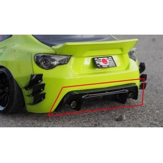 Addiction Pandem 86V3 Rear Diffuser (AD015-5)