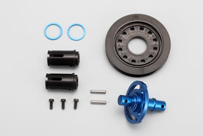 Yokomo Solid Axle Blue (for DRB, BD5) (BD-501S5)