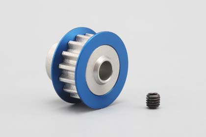 Yokomo Drive Pulley Front/Rear Blue (DRB-674)