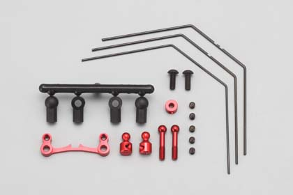 Yokomo DRB Stabilizer Set Rear Red (DRR-412RS)