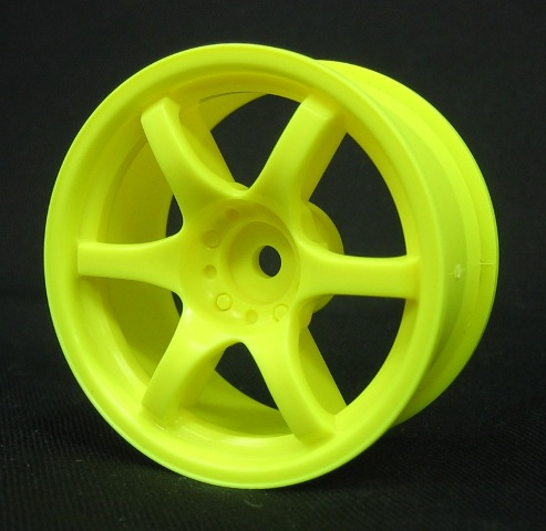 Mikuni Gram Lights 57D Neon Yellow 5mm (DW-425YE)
