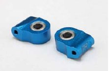 Yokomo Aluminium Lower Caster Block 12° Blue (IB-41312)
