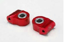 Yokomo Aluminium Lower Caster Block 7° Red (IB-41307R)