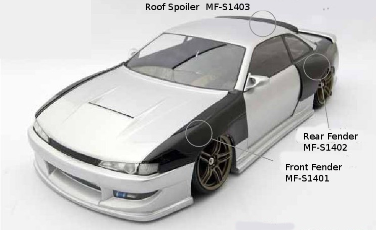 Maruma S14 Fender Rear (MF-S1402)