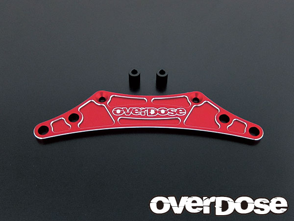 Overdose Aluminium Bumper Support Red (OD1042)