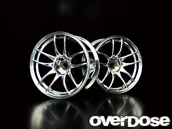 Overdose Work Emotion CR Kiwami 7mm Chrome (OD1084)