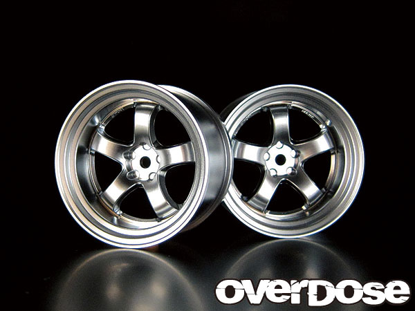 Overdose Work Meister S1R Mat Chrome 5mm (OD1179)