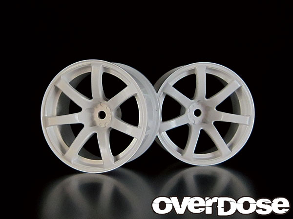Overdose Work Emotion XT7 7mm White (OD1190)
