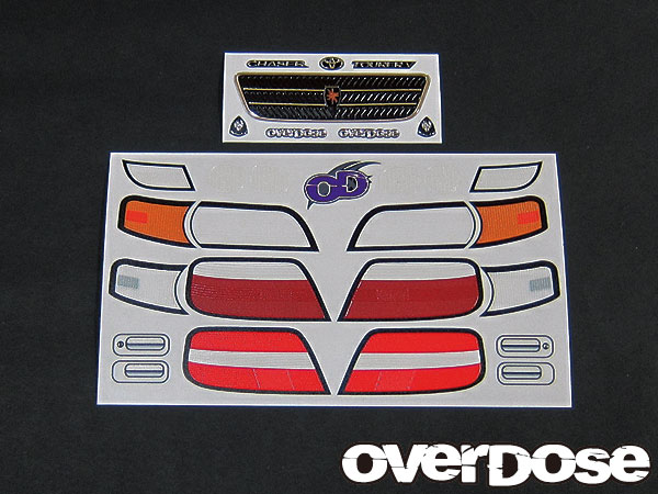 Overdose 3D Decals for Chaser (OD1428)