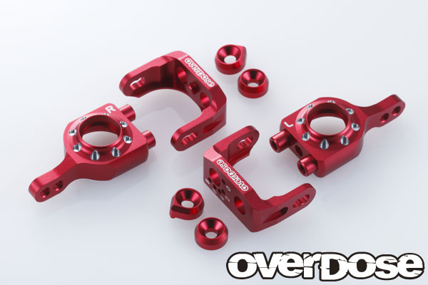 Overdose Alu Adjustable Upright Set Red (OD1566)
