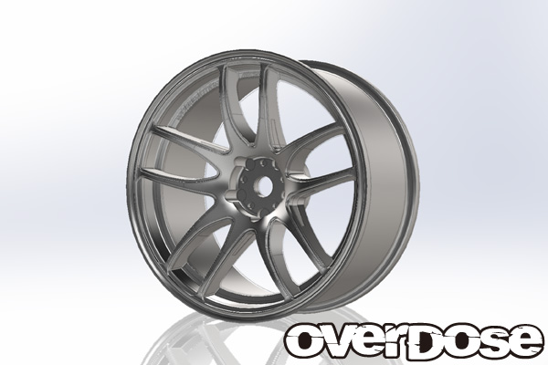 Overdose Work Emotion CR Kiwami 3mm Mat Chrome (OD1788)