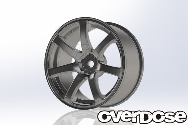 Overdose Work Emotion XT7 3mm Mat Chrome (OD1793)