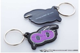 Overdose Key Holder Soft Logo Logo Type (OD1808)