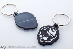 Overdose Key Holder Soft Logo WELD Skull (OD1810)