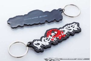 Overdose Key Holder Soft Logo Scorpion (OD1813)