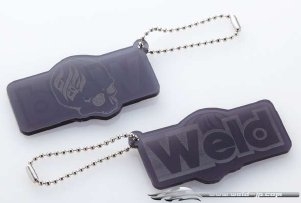 Overdose Key Holder Acryl Skull Smoke (OD1864)