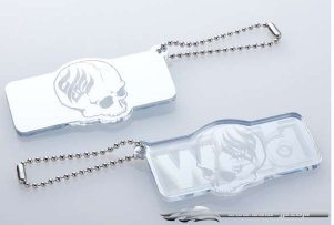 Overdose Key Holder Acryl Skull Mirror (OD1865)