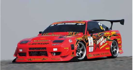Yokomo Dunlop with Koguchi Power 180SX (SD-DKPSA)