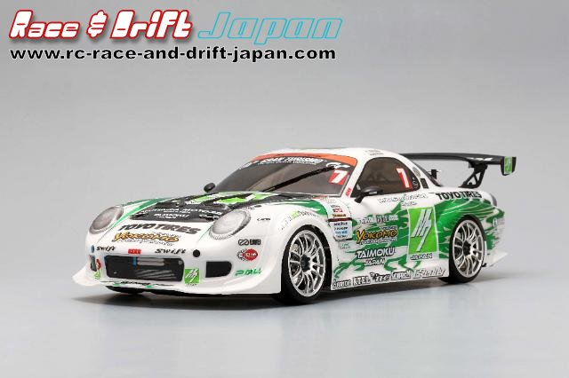 Yokomo M7 RE Amemiya with Toyo Tires D1-7 (SD-REA7BS)