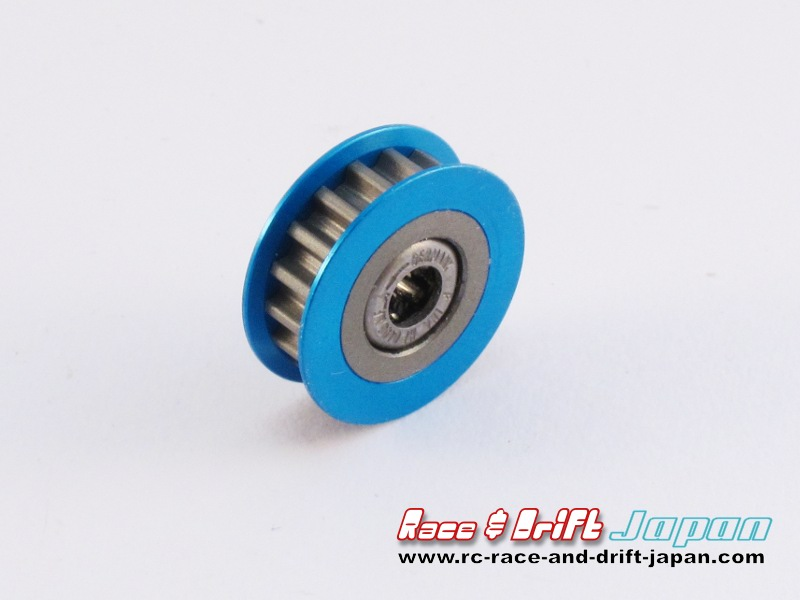 Square One-Way Pulley 17T Blue (SGE-317W)