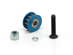 Square Aluminium Belt Tensioner Pulley 11T Blue (SGE-311T)