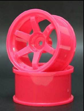 Spice 6-Spoke Pink 5mm (SPKV-007)