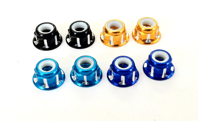 Active Wheel Lock Nut Blue (STR136B)