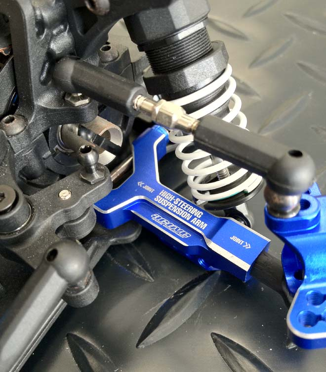 Active High Steering Suspension Arm Blue (STR184DB)