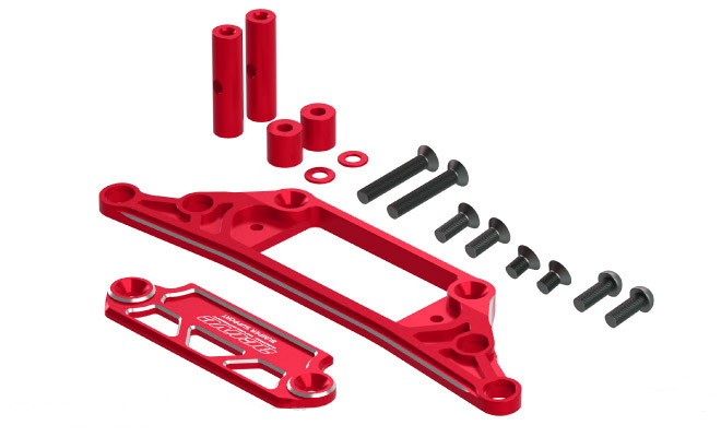Active Alu Bumper Support Red (STR211R)