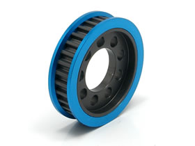 Square Alu Rear Diff Pulley 31T for VDF (SVD-331)