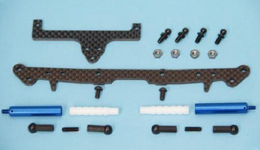Team Bomber HC Friction Damper Conversion Kit Blue (TB20081)