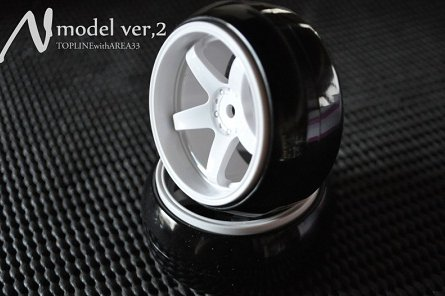 Top Line N-Model Ver. 2 6mm White (TDW-061WH)