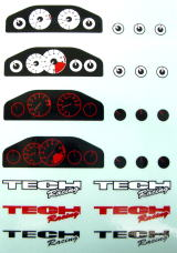 Tech Dashboard Decal Type A