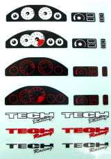 Tech Dashboard Decal Type B
