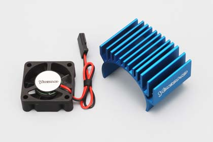 Yokomo Heat Sink with Fan Small (YM-HCFSA)