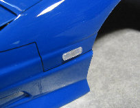 D-Craft 180SX Side Marker Flat Type Clear