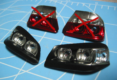 D-Craft Chaser Head Lights (for Yokomo)