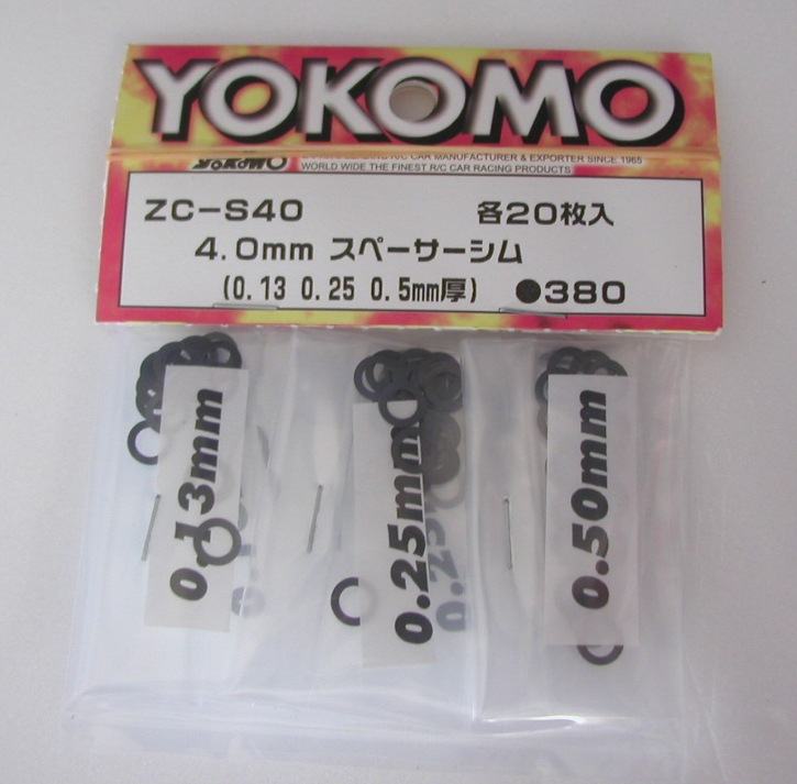 Yokomo Shim Set 4.0mm (ZC-S40)